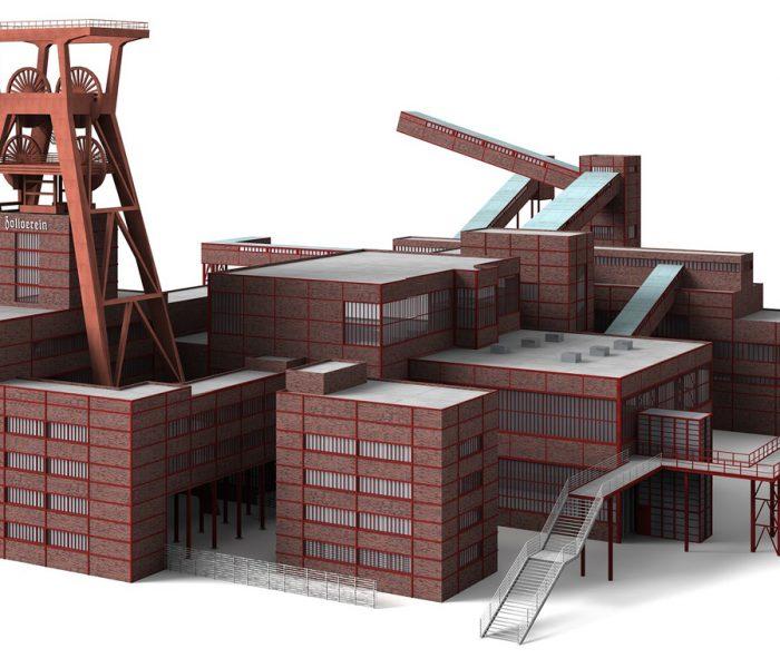 Symbolbild: Standortfaktor: Work in progress oder Grüne Hauptstadt Essen, COLD PERFECTION