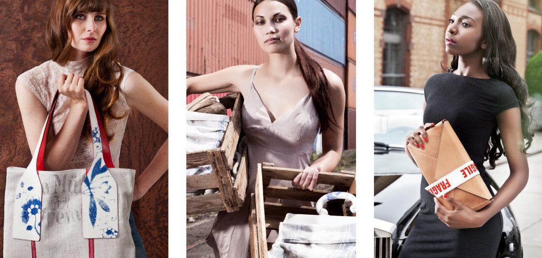 Das Label Content & Container transformiert die Schönheit des Alltäglichen zum entscheidenden Stilelement und stellt vermeintliche Makel in den Mittelpunkt.
