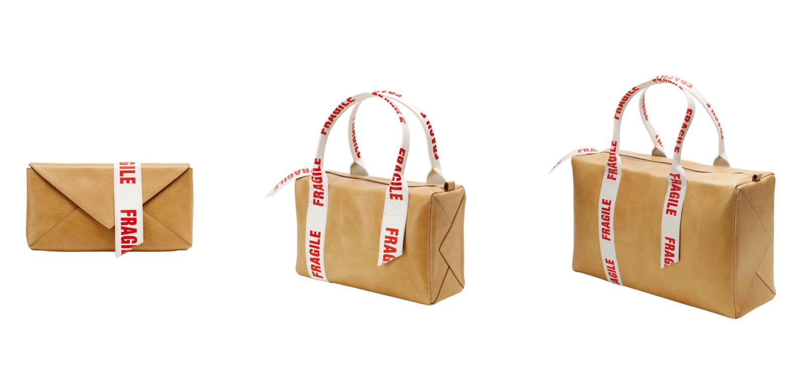 Varianten der Parcelbag von Pia Pasalks Label Content & Container.