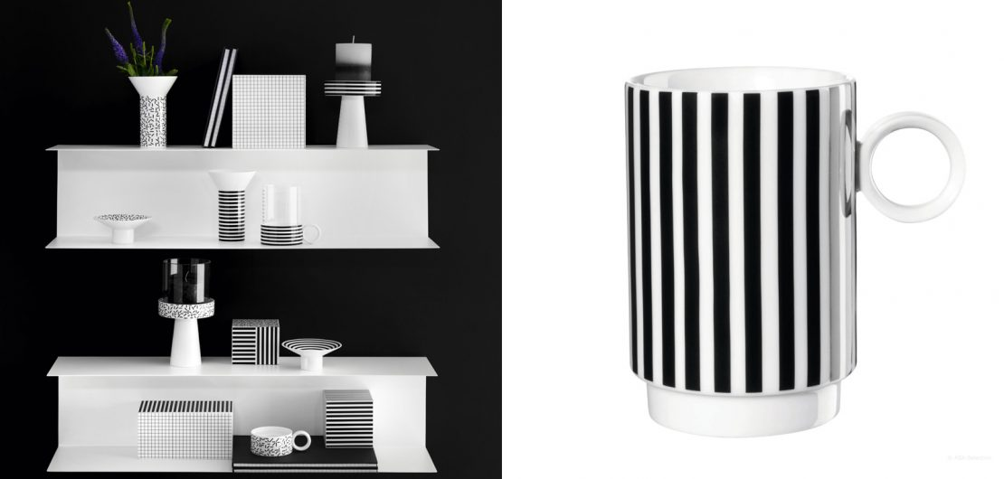 Memphis war die Kulmination der in den 60er-Jahren aufgekommenen Kritik am besonders vom Bauhaus geprägten Funktionalismus. Den bis heute anhaltenden Einfluss der Mailänder Designgruppe beweisen Produkte wie die Porzellanserie New Memphis von ASA Selection.