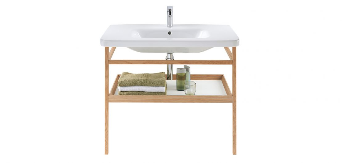 Am Waschplatz entscheiden sich Charakter und Stil eines Badezimmers. So unterschiedlich wie die Geschmäcker sind mittlerweile auch die angebotenen Lösungen. Das Foto zeigt ein Modell der Serie DuraStyle aus dem Hause Duravit.