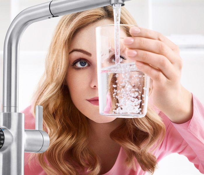 Mit seiner neuen Serie von Smart-Armaturen will BLANCO, Deutschlands größter Spülenhersteller, nicht weniger als die Zukunft der Küchenarmaturen einläuten.