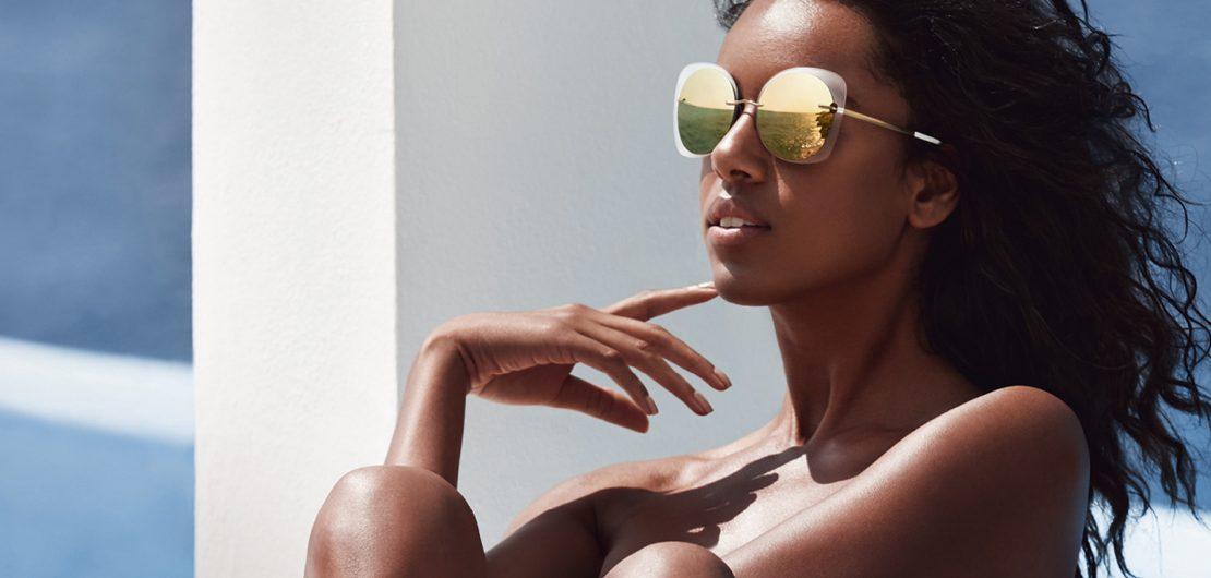 Die Sonnenbrillenkollektion Accent Shades von Silhouette stellt eine besonders reizvolle Umsetzung der neuen Light Management Technologie dar.