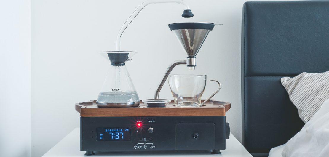 Der Barisieur, ein nostalgisch anmutendes, aber hoch modernes Gerät, verwandelt das Kochen von Kaffee oder Tee in ein entschleunigendes Fest für die Sinne.