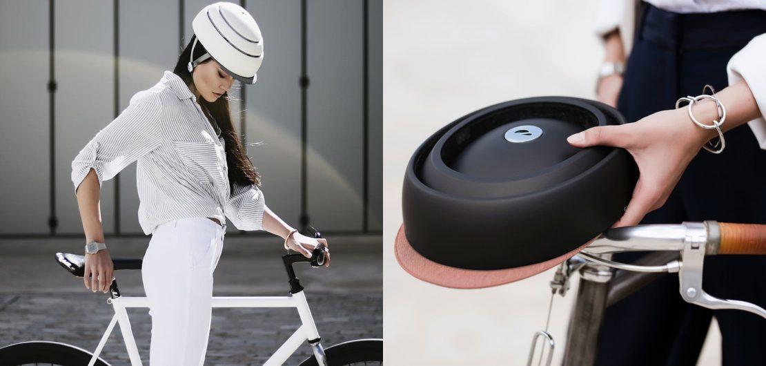 Muss ein Fahrradhelm tatsächlich hässlich sein, um wirksamen Schutz zu bieten? Mit dem Closca Helmet wurde dieser Verdacht glänzend widerlegt.