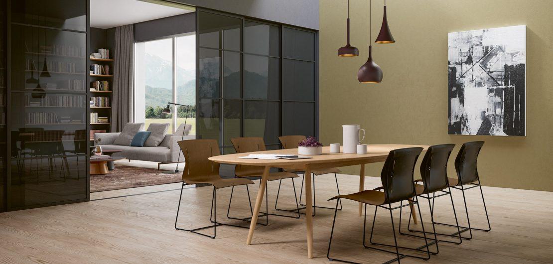 Mit Cuoio hat man bei Walter Knoll eine Art minimalistischen Maximalstuhl im Programm: bequem, robust und langlebig sowie überaus elegant.