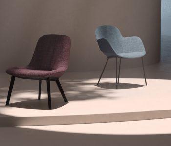 Mit gleich zwei neuen Produktlinien bringt Walter Knoll frische Luft ins Thema Sitzen: Sheru chAIR und Sheru armchAIR. Beide haben das Zeug zum Klassiker.