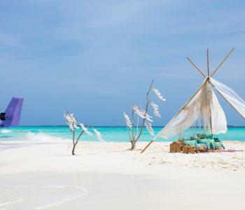 """Im Rahmen eines speziellen """"Workation Package"""" lädt das paradiesische Resort The Nautilus Maldives Reisende aktuell zum """"Social Distancing de luxe"""" ein."""