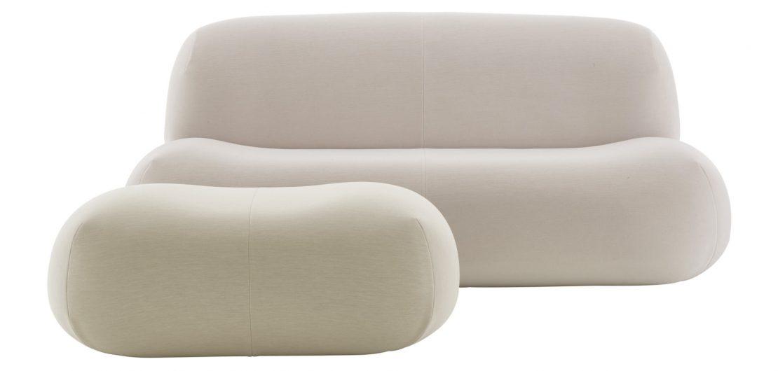 Pukka, ein von weichen, organischen Formen geprägtes Sitzmöbelprogramm, ist die neue, freundliche Einladung von Ligne Roset, bequem Platz zu nehmen.