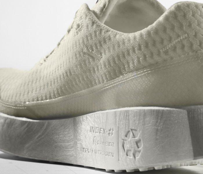 Nach 3 Jahren Forschungs- und Entwicklungsarbeit soll der Salomon Index.01 im Frühjahr 2021 als erster vollständig recycelbarer Schuh der Marke erscheinen.