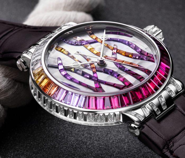 Eine Uhr als Gesamtkunstwerk: Die Marine Haute Joaillerie Poseidonia zählt zu den schönsten Beiträgen der Uhrmacher- und Goldschmiedekunst der letzten Zeit.