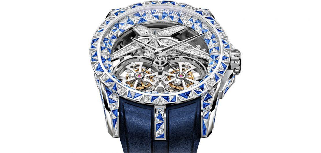 Mit der Excalibur Superbia zeigt die Maison Roger Dubuis, was die Uhrmacher- und Goldschmiedekunst zu leisten vermag, wenn alle Beschränkungen wegfallen.