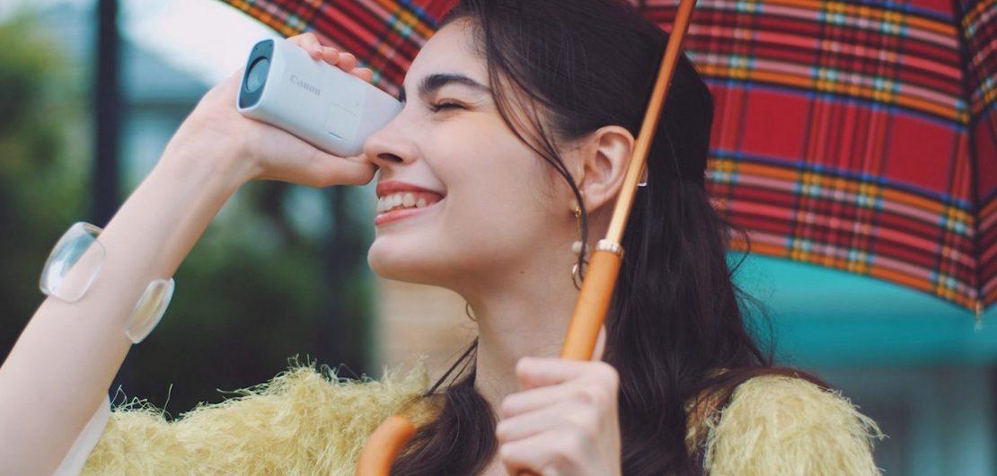Die neue kompakte PowerShot ZOOM von Canon verbindet die Benutzerfreundlichkeit eines Fernglases mit vielfältigen Aufnahme- und Übertragungsfunktionen.