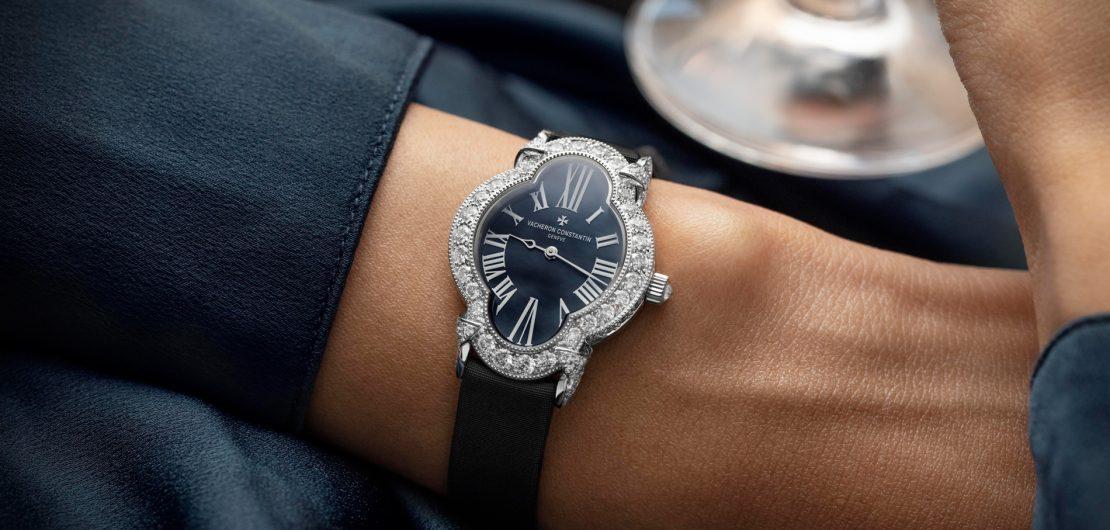 Die vom Jugendstil inspirierte Vacheron Constantin Heure Romantique verbindet das Beste, was Uhrmacherkunst und Schmuckherstellung zu leisten vermögen.