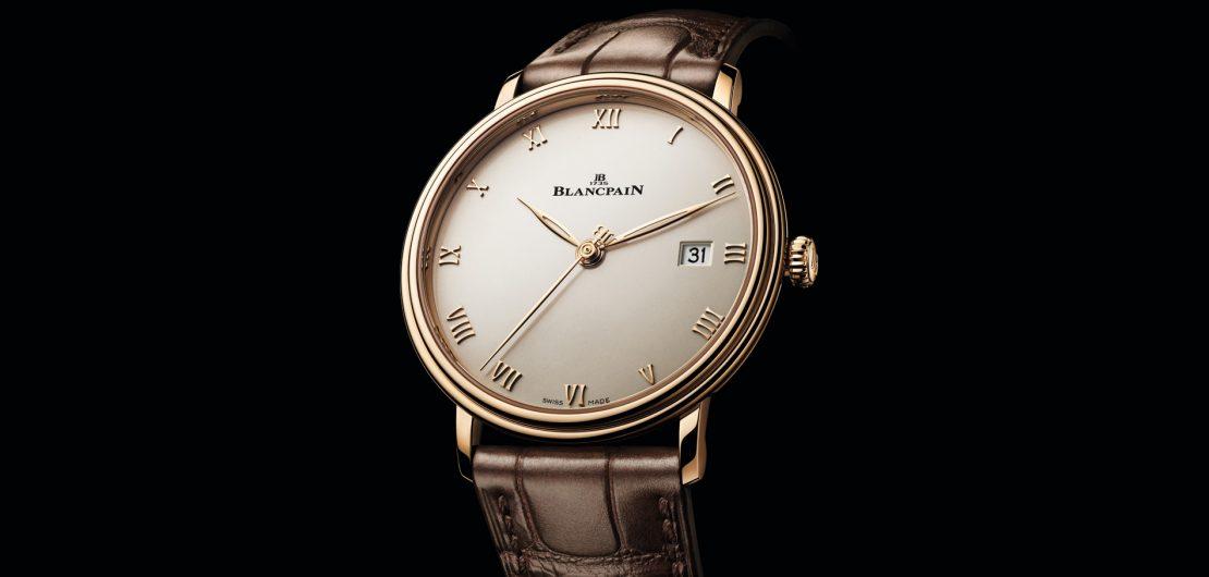 Vorn und hinten Saphirglas, dazwischen jede Menge Finesse und ästhetische Reinheit: Die Blancpain Villeret Ultraplate ist ein Bild von einer Dress Watch.