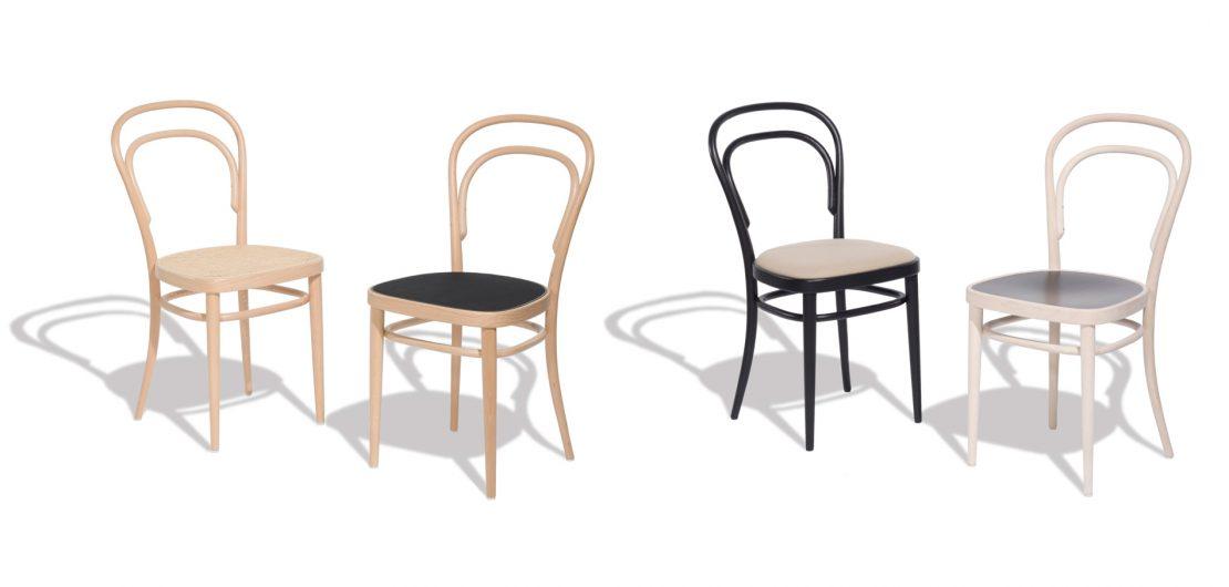 Sechs Bauteile, zehn Schrauben, zwei Muttern: Der Thonet 214 (früher Stuhl Nr. 14) läutete das moderne Möbeldesign und die Massenfertigung von Möbeln ein.