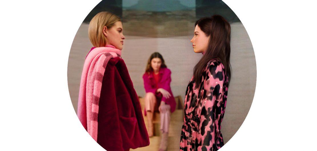 Gekonnt wie sonst Textilfasern verwebt Marc Cain in seinem neuen Fashion-Film Fiktion und Realität. Echte Models treffen darin auf Avatare.