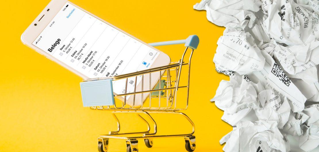 Das Bremer Unternehmen A&G will mit seiner App admin dafür sorgen, dass der Papierbon den Dienst quittiert und die entsprechenden Abfallberge wegfallen.